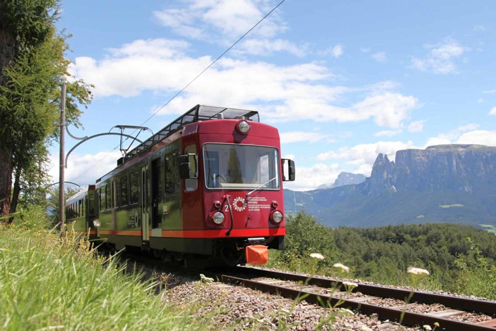 Reisen wie zu Kaisers Zeiten: Die Rittner Schmalspurbahn